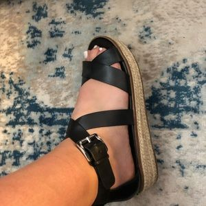 Micheal Kors strappy espadrille sandals
